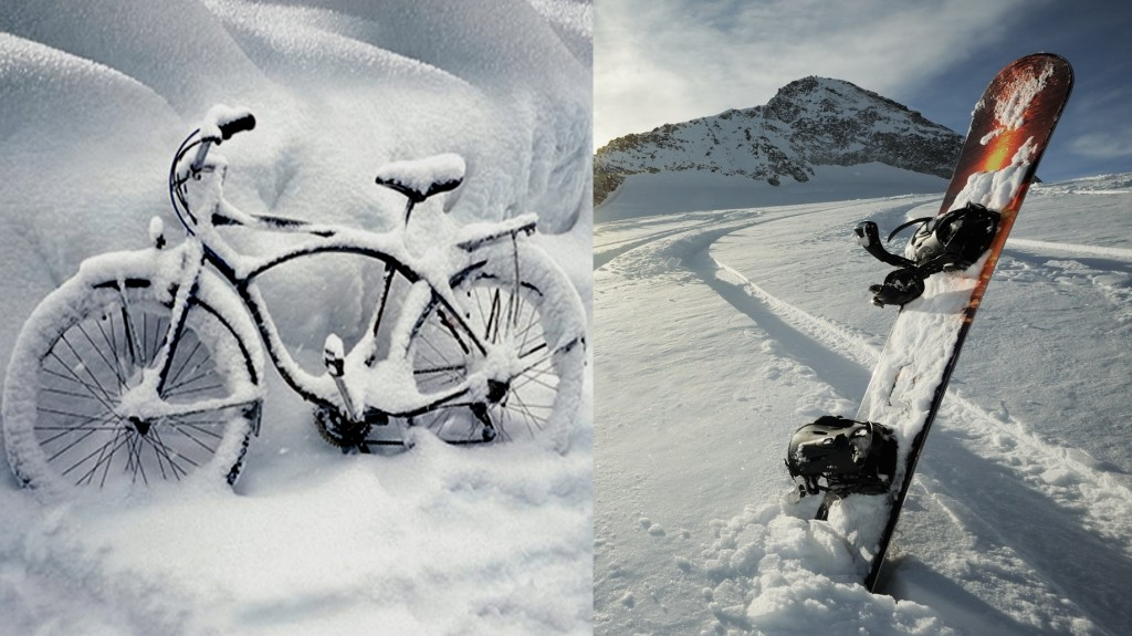 Snow ou vélo