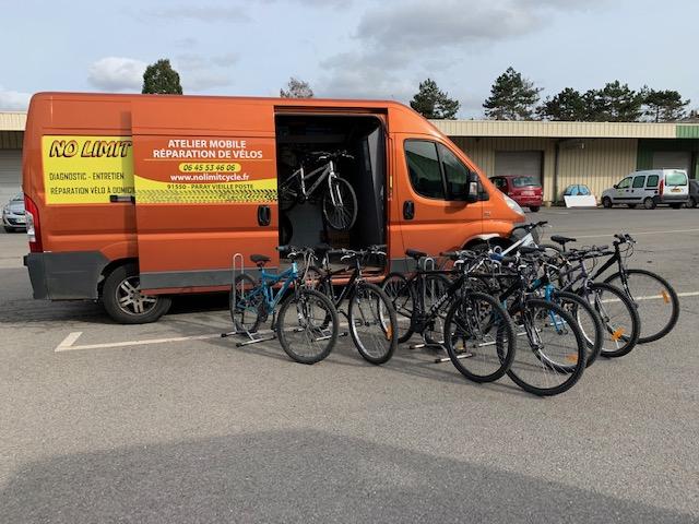 Réparation vélo à domicile No Limit Cycle parc vélo