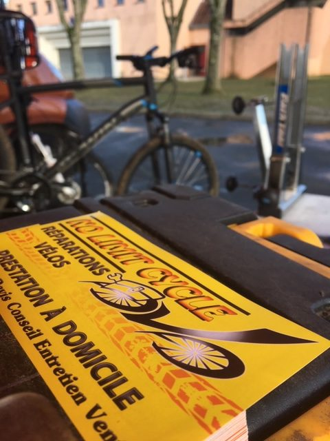 Réparation vélo à domicile No Limit Cycle