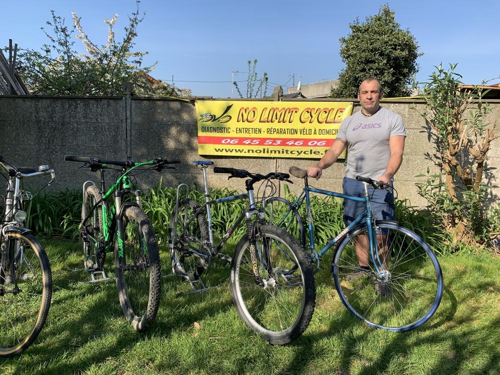 Entretien - réparation vélos à domicile