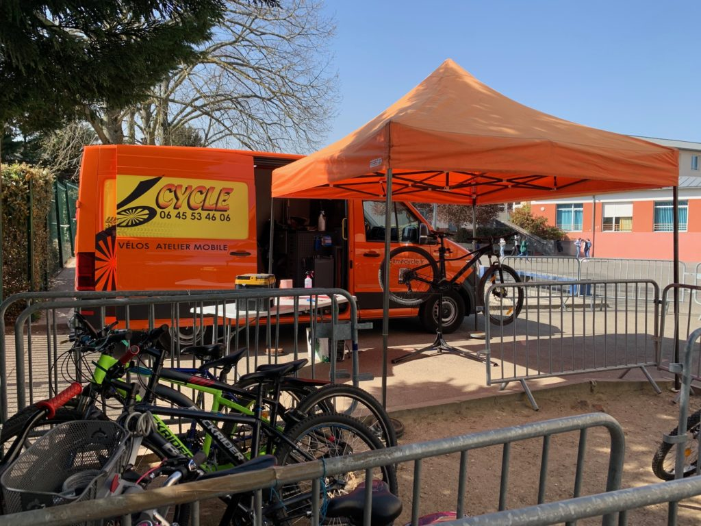 Stand reparation velo